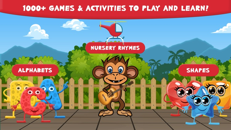 Preschool Zoo Puzzles Zoolingo screenshot-1
