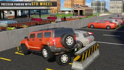 5th Wheel Car Parking Spot 3D-1