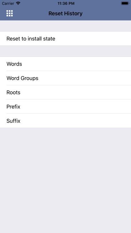 Vocabulary for GRE ® Test lite screenshot-6
