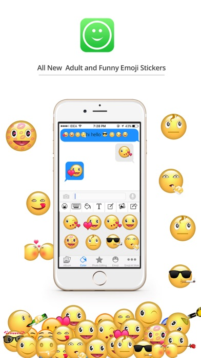 Stickers eMoji for iMessage-0