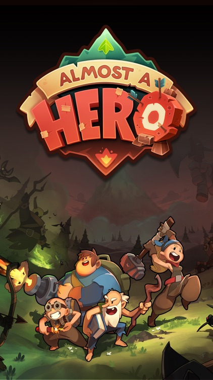 Almost a Hero - Clicker RPG screenshot-4
