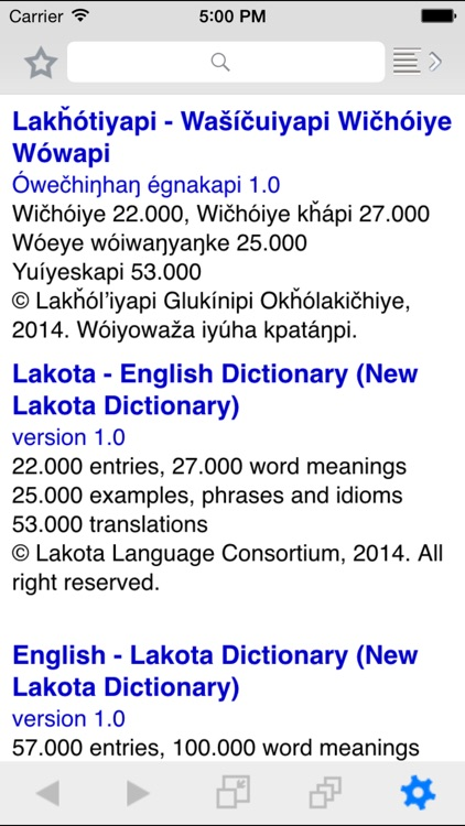 New Lakota Dictionary - Mobile screenshot-3