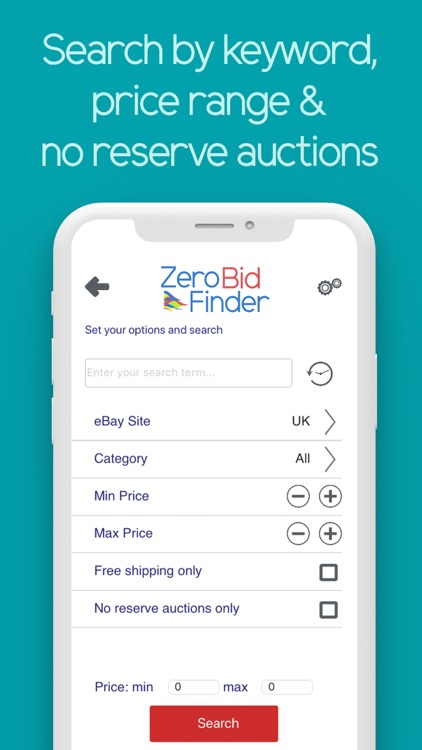 Zero Bid Finder for ebay USA screenshot-3