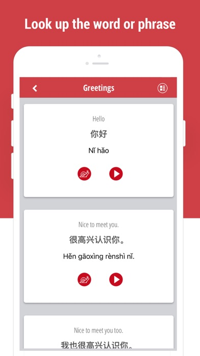 Screenshot for Learn Chinese Language in Colombia App Store