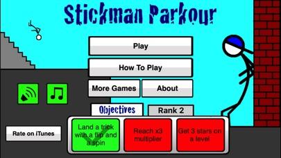 Stickman Parkourのおすすめ画像3