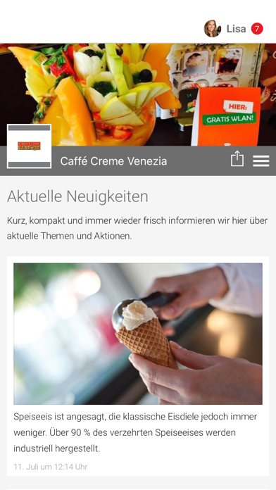 Caffé Creme Venezia screenshot 1