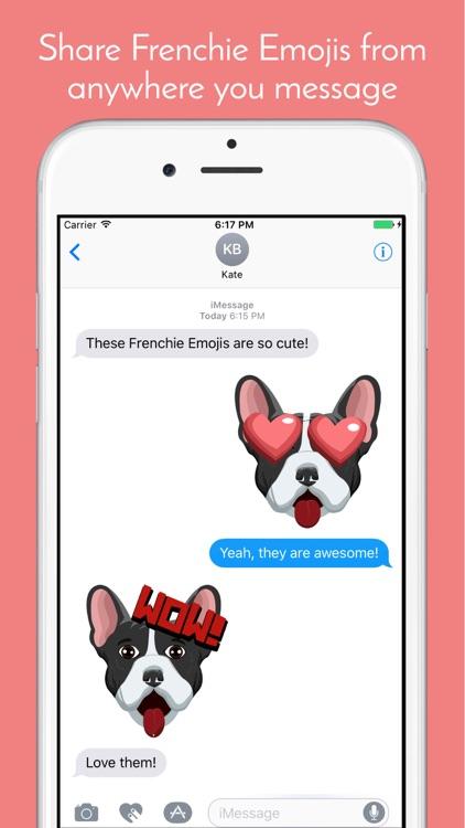 FrenchieMoji - French Bulldog