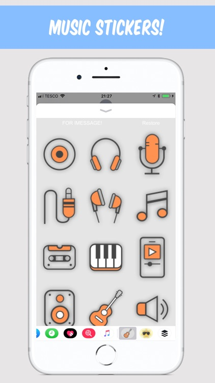 Emoji Music Stickers