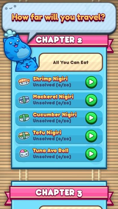 Sushi Cat Words screenshot 3