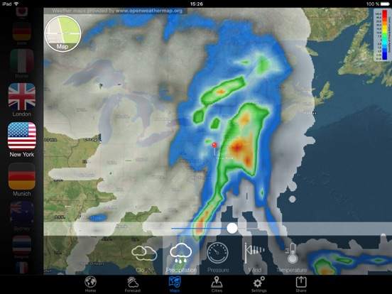 Weather Now - Wind and Waves Screenshots