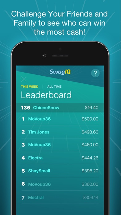 Swag Iq App Reviews - User Reviews of Swag Iq