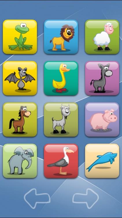 Animal Sound Board Flash Cards