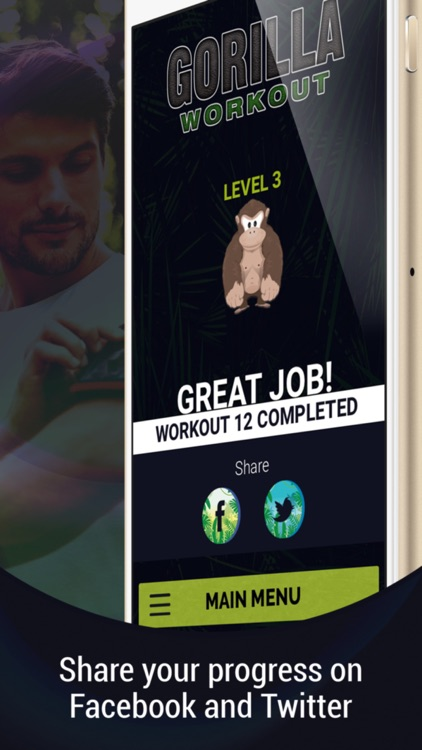 Gorilla Workout: Build Muscle screenshot-3