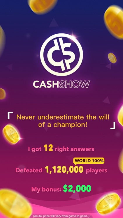 Cash Show - Win Real Cash! screenshot-4