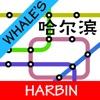 鲸哈尔滨地铁地图
