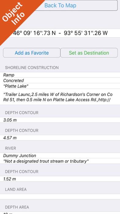 Minnesota Lakes Hd Charts review screenshots