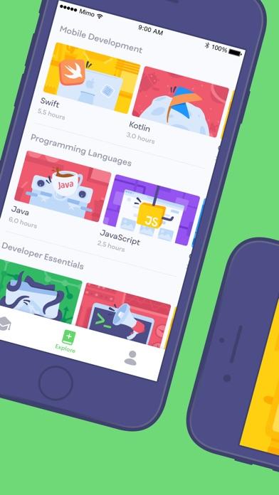 Mimo: Learn to Code Screenshots
