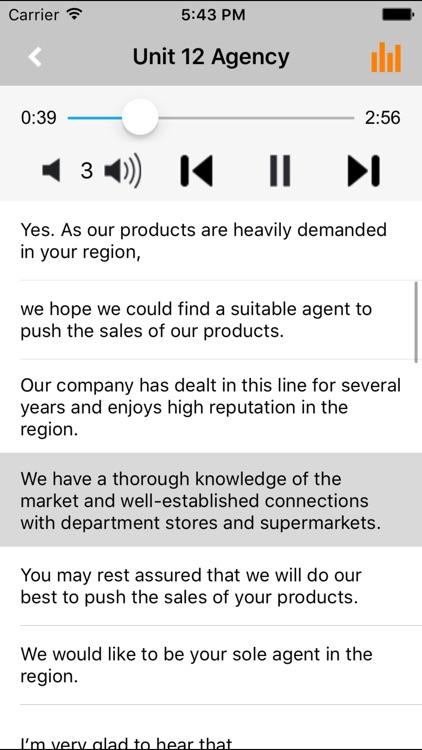 外贸英语口语随身听 -商务外语口语随身听系列 screenshot-4