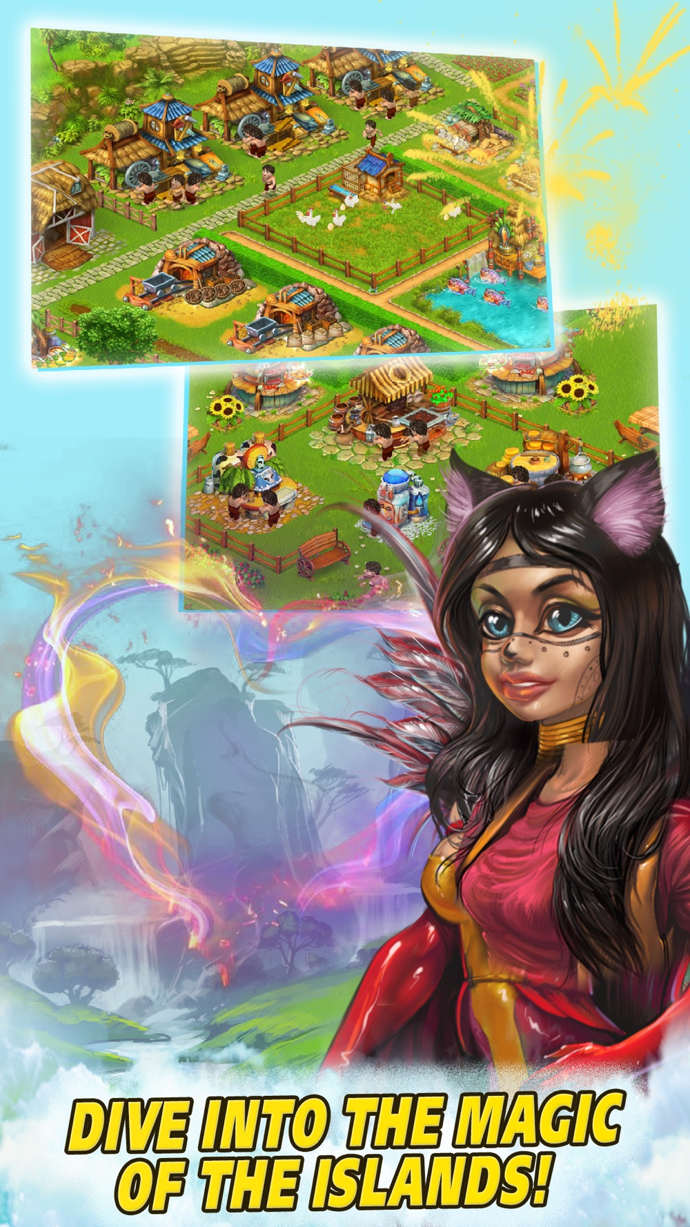 Farm Tribe: Cooking Island Cheat Codes