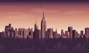 Cityscapes 4K by Magic Window