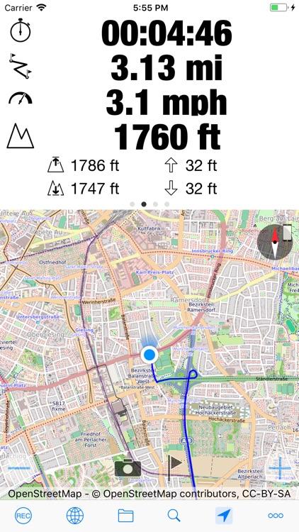 myTracks - The GPS-Logger screenshot-3