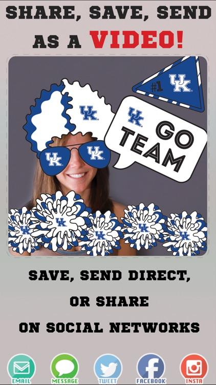 Kentucky Wildcats Animated Selfie Stickers screenshot-3