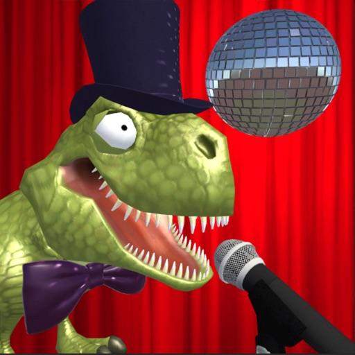Mr Dino. The singing dinosaur
