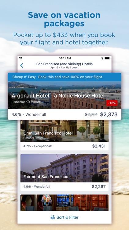 CheapTickets Hotels & Flights screenshot-3