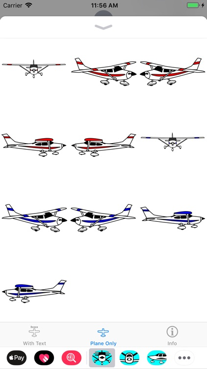 Cessna 182 Sticker App screenshot-2