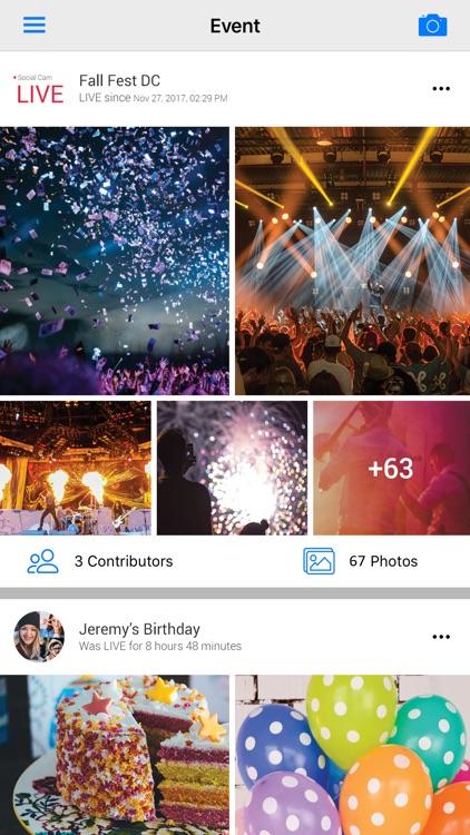 Social Cam - Photo Sharing App
