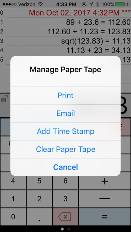 Paper Calc Office screenshot-3