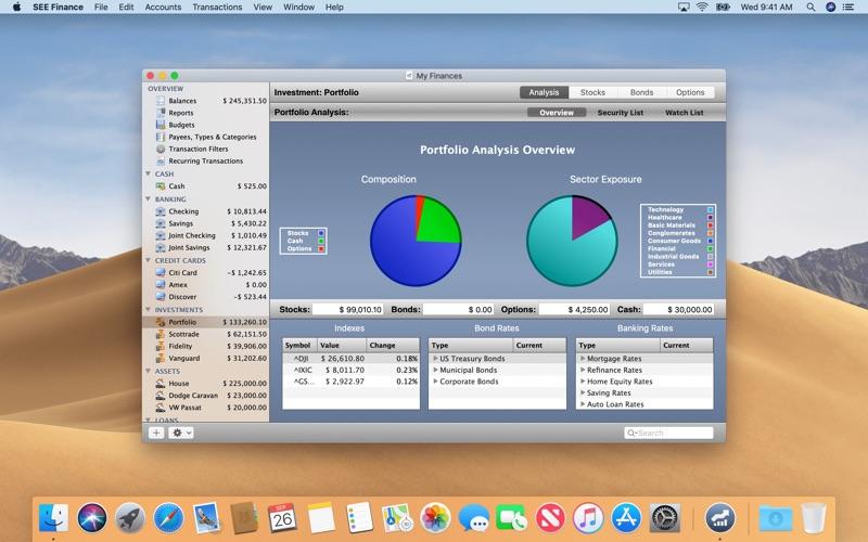 SEE Finance Screenshot