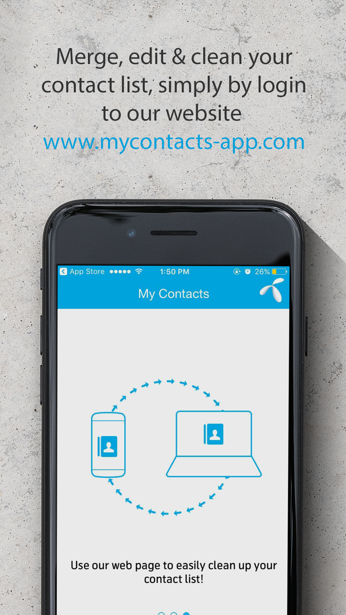 My Contacts app Screenshot