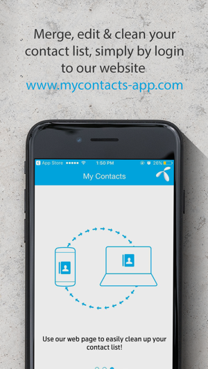my contacts app on the app store