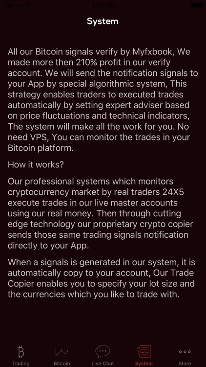 Bitcoin Trading Crypto Trade screenshot-3