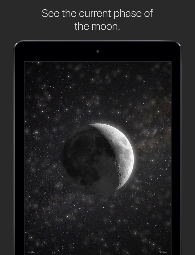 Moon current moon phase on the app store sciox Image collections