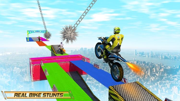 Stunt Bike Impossible Tracks screenshot-0