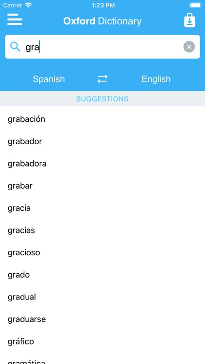 Oxford Learner's Spanish screenshot-4