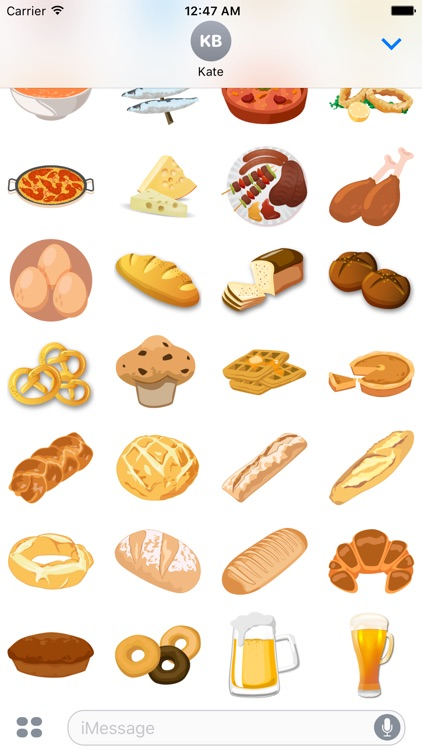 Yummy Food Stickers screenshot-4