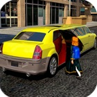 limo driver city cab icon