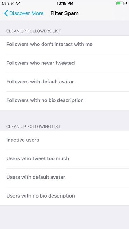 Find Unfollowers For Twitter screenshot-6