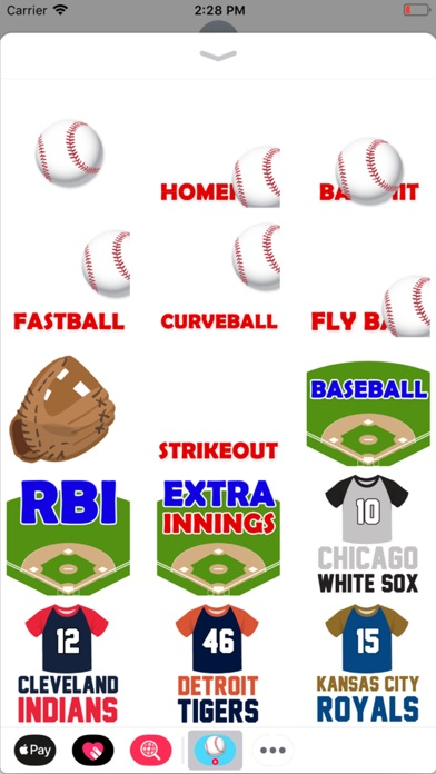 Animated Baseball Stickers screenshot 2