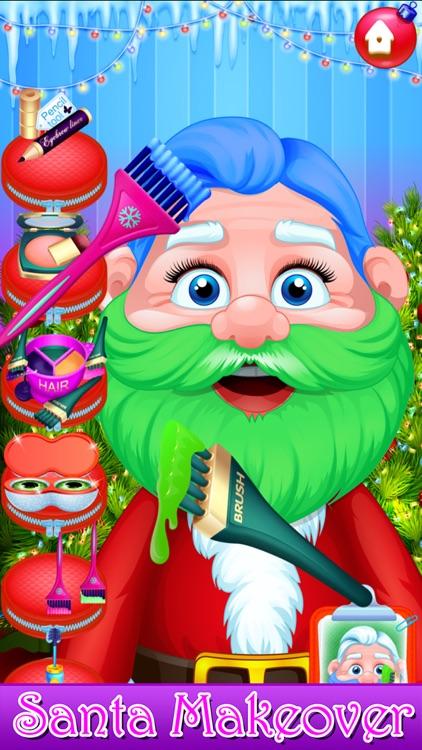 Santa Hair Salon Christmas Spa screenshot-6