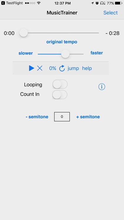 Slow Down Music Trainer