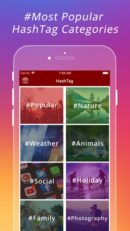 Popular HashTags for Instagram