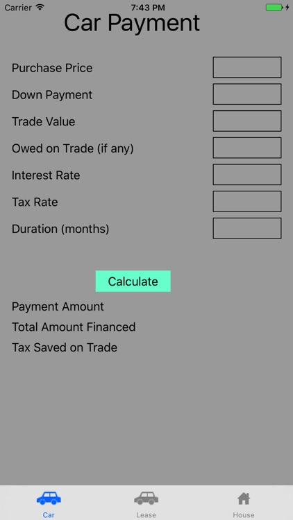 Simple Payment Calculator screenshot-3