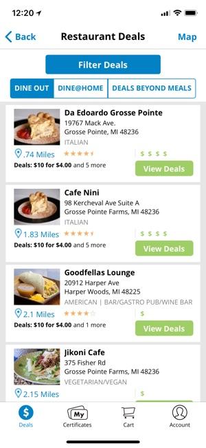 Restaurant.com on the App Store