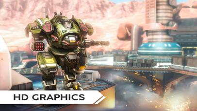 Robot Warfare: Mech Battle screenshot 5