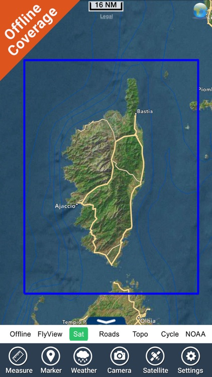 Corsica Nautical Charts GPS HD screenshot-4
