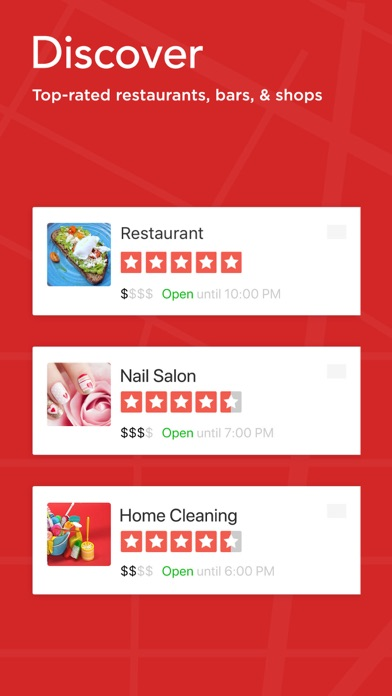 Yelp: Discover Local Favorites app image